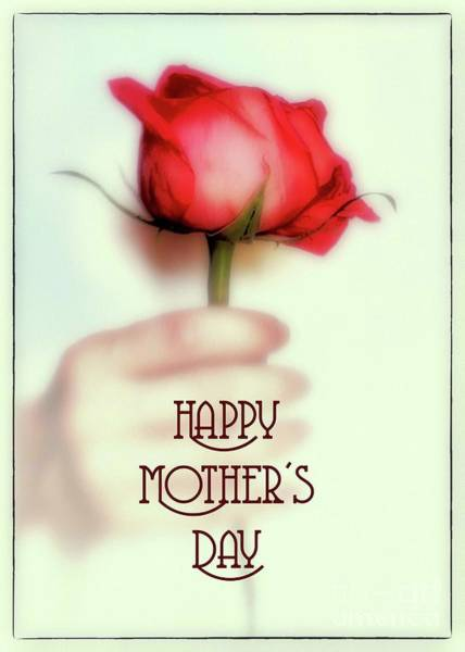 Photograph - Happy Mother's Day by Natural Abstract Photography