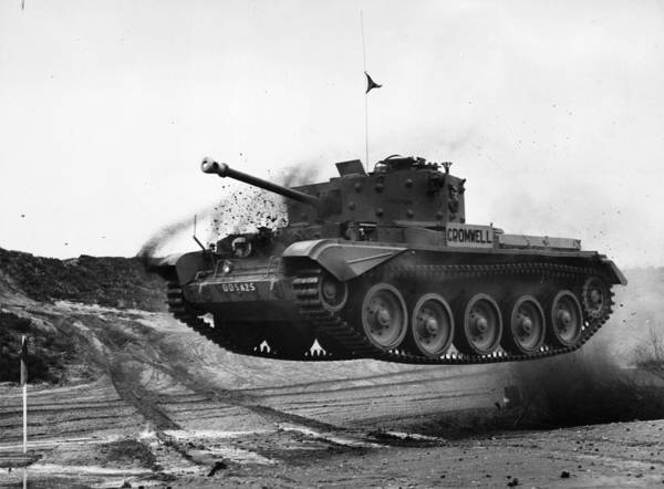 Armored Vehicle Photograph - Happy Tank by E. Bacon