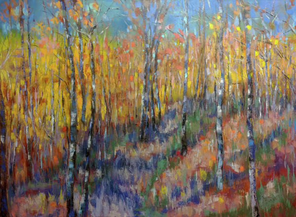 Wall Art - Painting - Happy Time In The Wood by Sun Sohovich