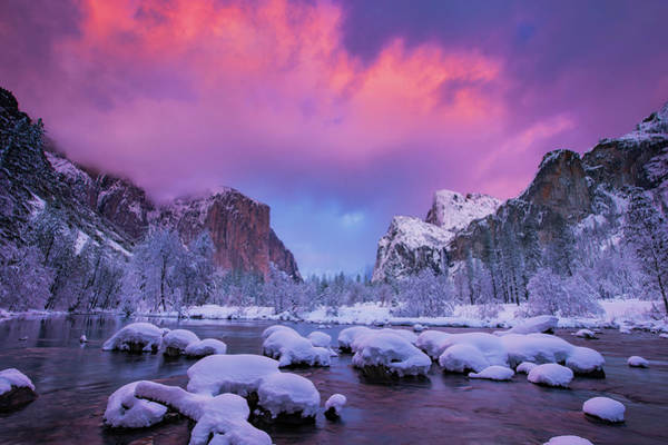 Wall Art - Photograph - Happy Valleytine's Day, Yosemite by Vincent James