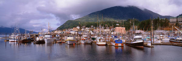 Ketchikan Photograph - Harbor And Down Town Area Of Ketchikan by Harald Sund