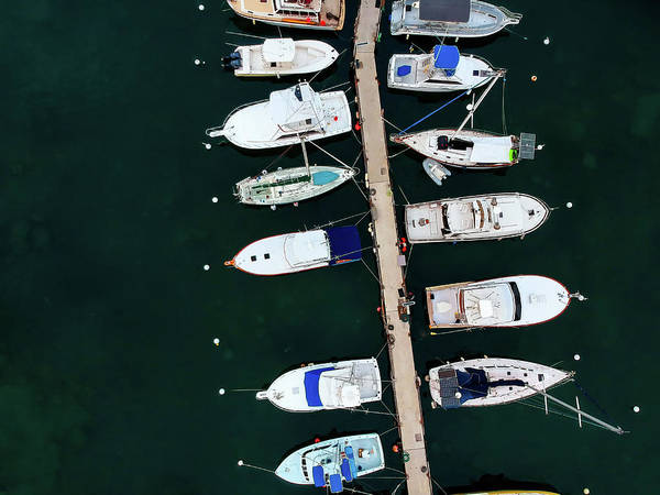 Photograph - Harbor Boats by Christopher Johnson