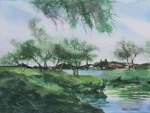 Wall Art - Painting - Harbor Creek by Kris Parins