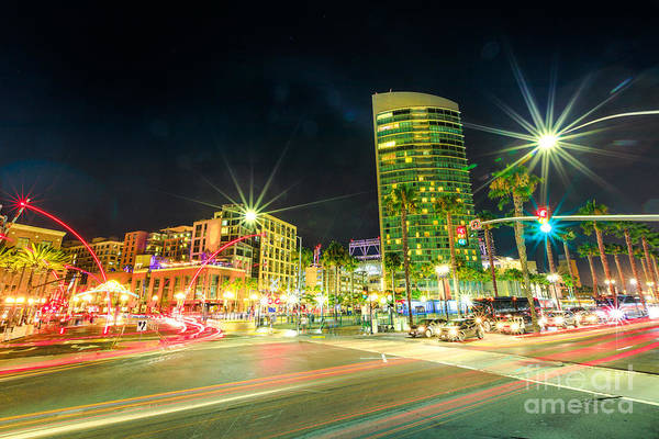 Photograph - Harbor Drive In San Diego by Benny Marty