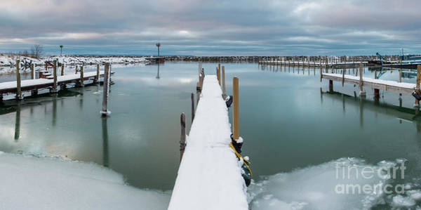 Wall Art - Photograph - Harbor In Winter by Twenty Two North Photography