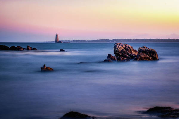 Photograph - Harbor Light by Jeff Sinon