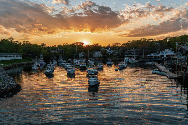 Wall Art - Photograph - Harbor Sunset by Matt Bilyk