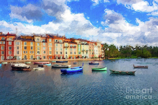 Photograph - Harbor Vista Series 3179 by Carlos Diaz