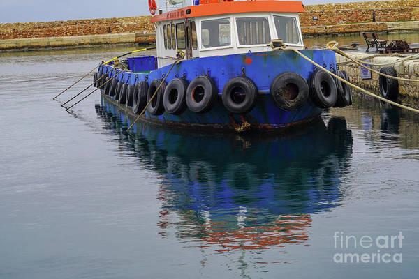 Wall Art - Photograph - harbour, Chania, Crete, Greece k1 by Vladi Alon