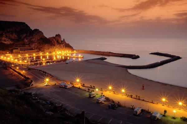 Sardinia Photograph - Harbour Lights by Bernd Schunack
