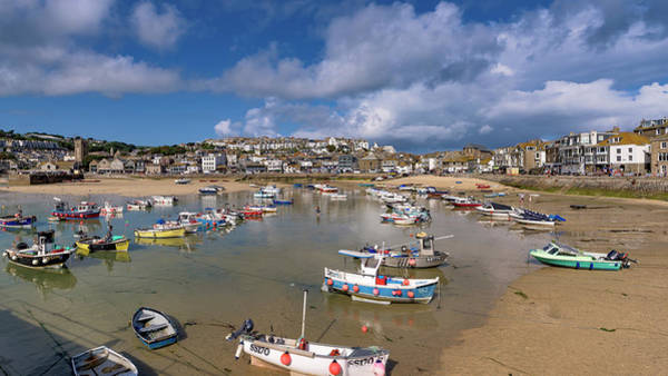 Photograph - Harbour - St Ives Cornwall by Eddy Kinol