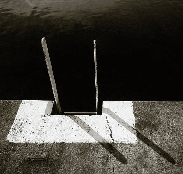 Photograph - Harbour Steps by Dave Bowman
