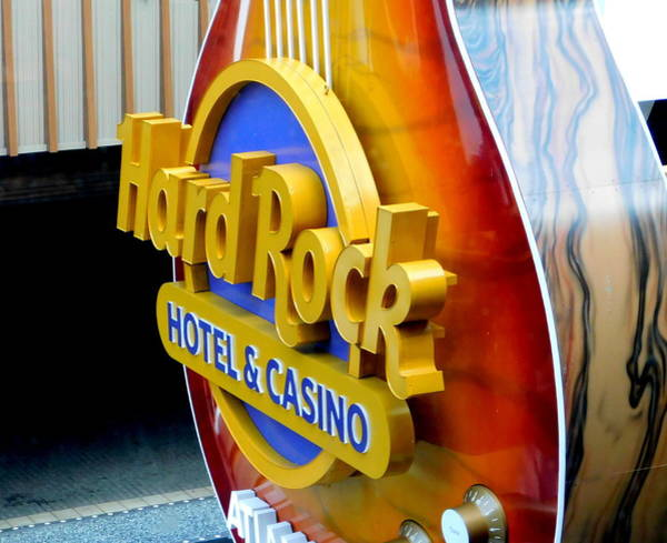 Wall Art - Photograph - Hard Rock Hotel And Casino - 2 by Arlane Crump