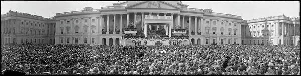 Wall Art - Photograph - Harding Inauguration, Washington D.c by Fred Schutz Collection