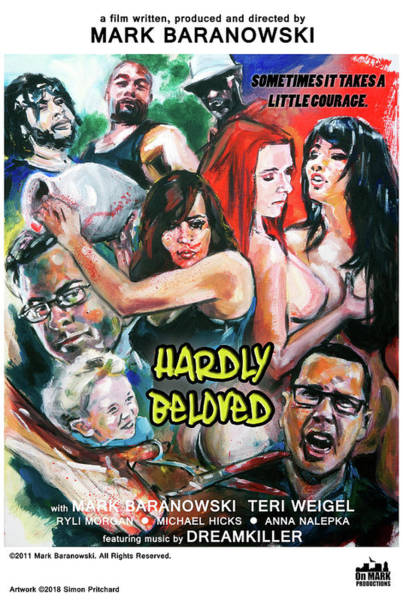 Digital Art - Hardly Beloved Poster B by Mark Baranowski