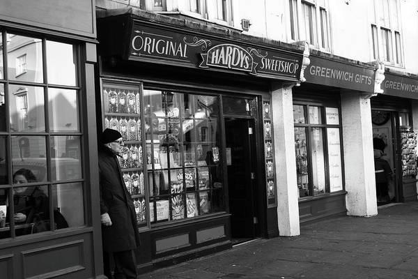 Photograph - Hardys Original Sweetshop, Greenwich, London by Aidan Moran
