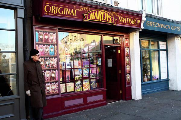Photograph - Hardys Original Sweetshop, London by Aidan Moran