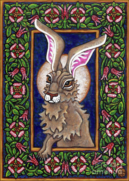 Painting - Hare Design 1 by Amy E Fraser