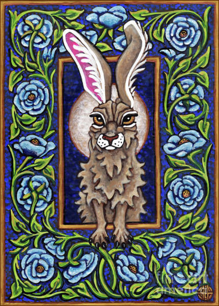 Painting - Hare Design 3 by Amy E Fraser