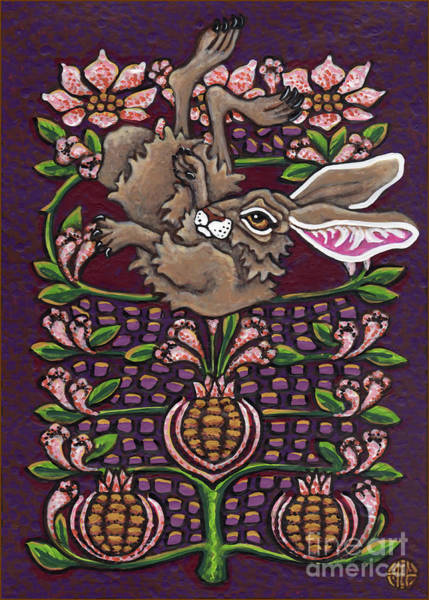 Painting - Hare Design 4 by Amy E Fraser