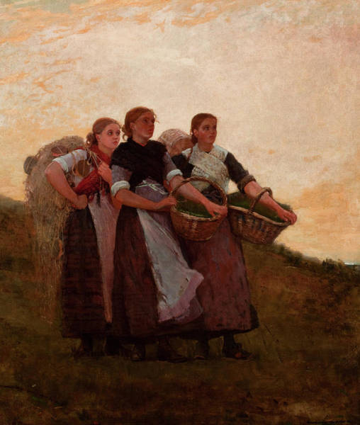 Wall Art - Painting - Hark, The Lark, 1882 by Winslow Homer
