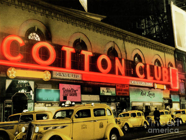 Wall Art - Photograph - Harlem Cotton Club New York by American School