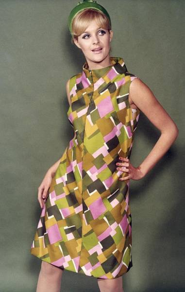 Dress Form Photograph - Harlequin Tunic by Chaloner Woods