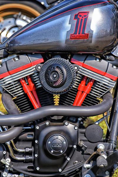Wall Art - Photograph - Harley Davidson 103 by Mike Martin