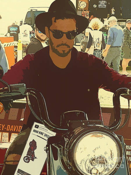 Queensland Digital Art - Harley Fan by Trudee Hunter