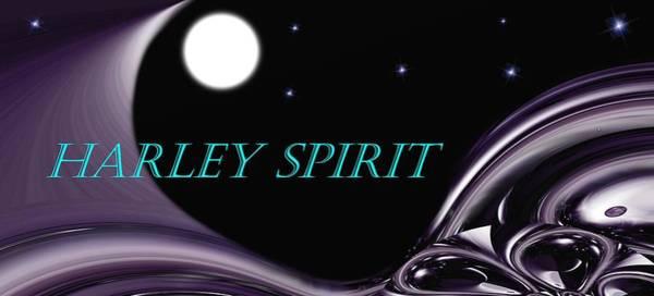 Wall Art - Mixed Media - Harley Spirit by Romuald  Henry Wasielewski