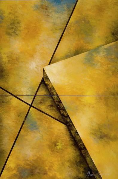 21st Painting - Harmonious, 2006 Acrylic On Canvas by Nancy Tamayo