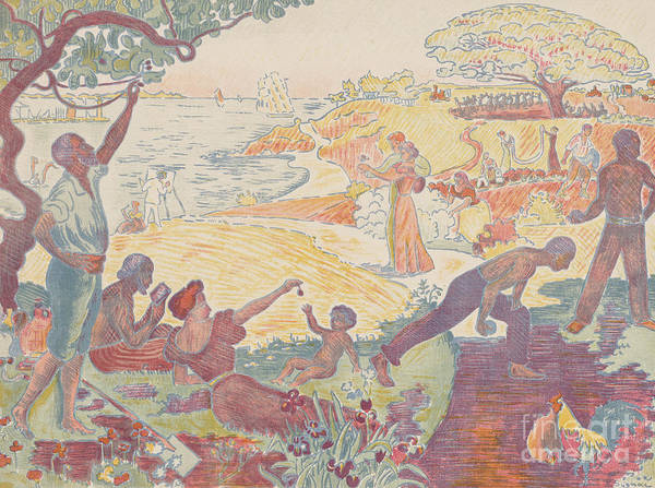 Wall Art - Painting - Harmonious Times By Signac by Paul Signac