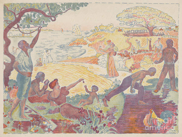 Wall Art - Painting - Harmonious Times by Paul Signac