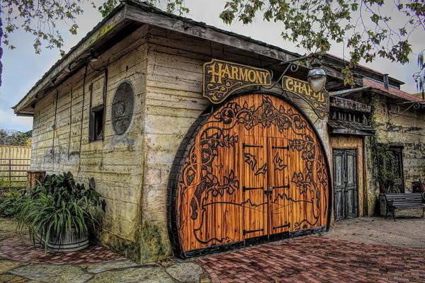 Photograph - Harmony Chapel Harmony California by Barbara Snyder