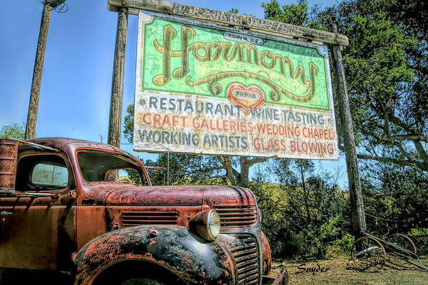 Photograph - Harmony Relics by Floyd Snyder