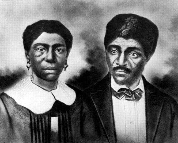 Dred Photograph - Harriet And Dred Scott, American Slaves by Science Source