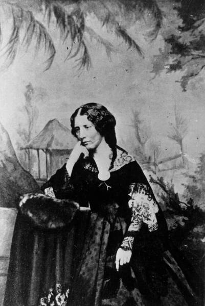 Wall Art - Photograph - Harriet Beecher Stowe by Time Life Pictures