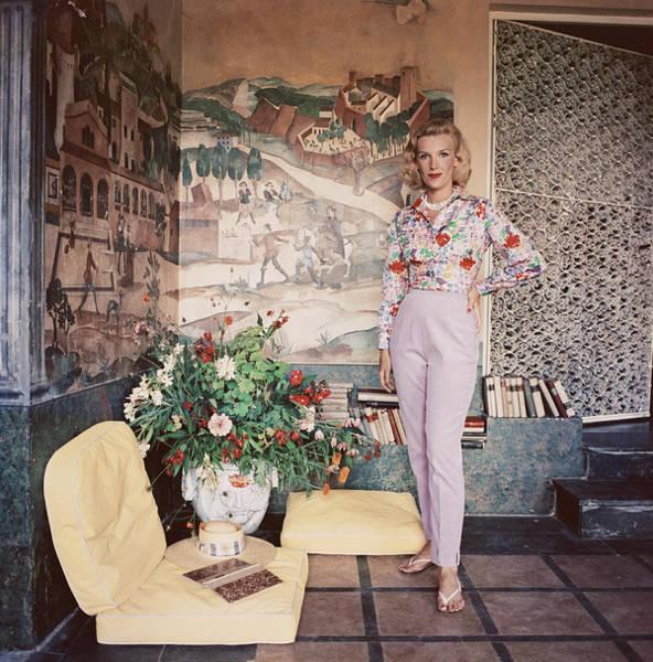 Photograph - Harriet De Rosiere by Slim Aarons
