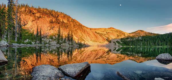 North Idaho Photograph - Harrison Lake Panoramic by Leland D Howard