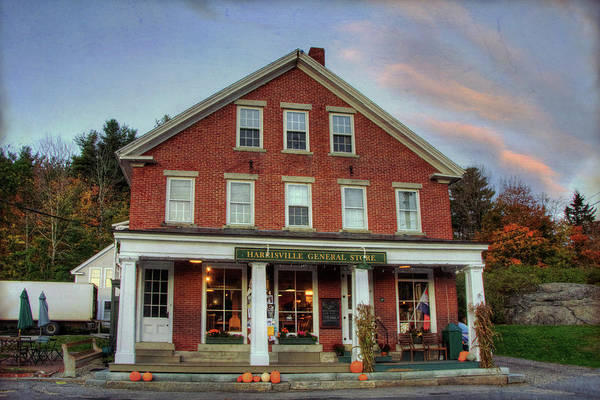 Photograph - Harrisville General Store by Joann Vitali