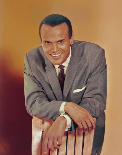 Photo Shoot Photograph - Harry Belafonte Portrait by Archive Photos