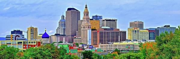 Wall Art - Photograph - Hartford Connecticut Stretched Out by Frozen in Time Fine Art Photography