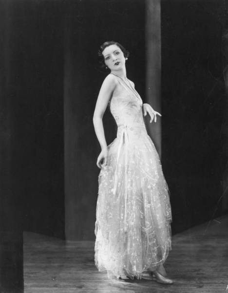 Evening Wear Photograph - Hartnell Gown by Sasha