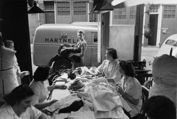 Workshop Photograph - Hartnell Salon by Haywood Magee