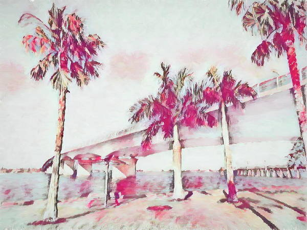 Harts Landing Sarasota Art Print