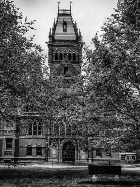Photograph - Harvard Memorial Hall by Chris Montcalmo