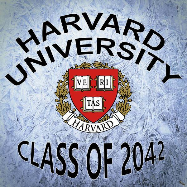Wall Art - Digital Art - Harvard University Class Of 2042 by Movie Poster Prints