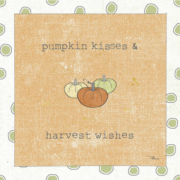 Wall Art - Painting - Harvest Cuties IIi Orange by Pela Studio