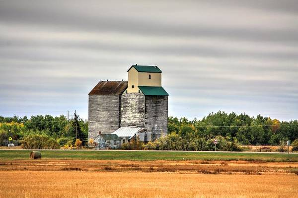 Photograph - Harvest Elevator  by David Matthews