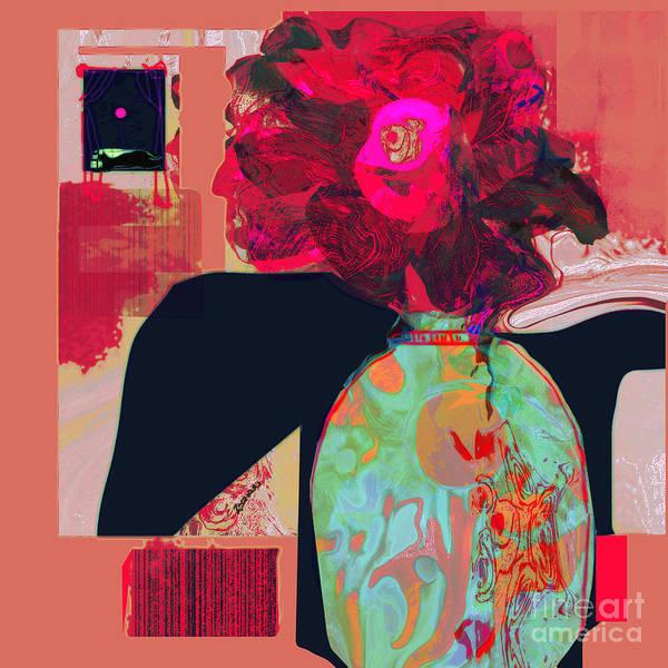 Organic Abstraction Mixed Media - Harvest Joy No 1 by Zsanan Studio